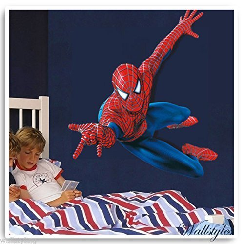 Amazing Spiderman Kids Wall Sticker Vinyl Large Art Decal Perfect as a gift