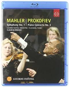 Mahler Prokoviev Lucerne Festival Mahler Symphony No 1 Prokofiev Piano Concerto No3 Blu-ray 2010 Ntsc by EUROARTS