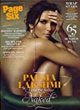 PAGE SIX MAGAZINE DECEMBER 3 2009 PADMA LAKSHMI *MINT*