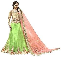 Silvermoon women's Net Embroidered heavy lehenga choli-sm_smGLFA5312_Light green_free size