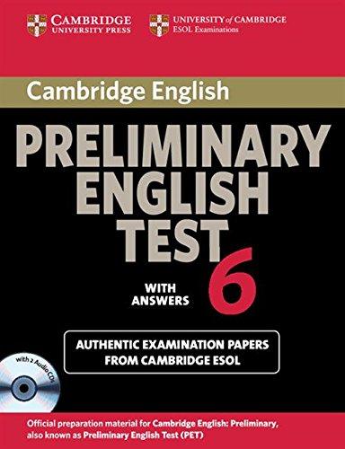 Cambridge preliminary english test. Self study pack. Per le Scuole superiori. Audiolibro. CD Audio: Cambridge Preliminary English Test 6 Self Study ... and Audio CDs (2)) (PET Practice Tests)
