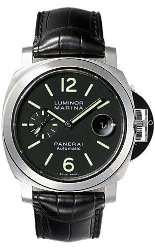 [パネライ] PANERAI 腕時計 ルミノールマリーナ PAM00104 ブラック メンズ [並行輸入品]