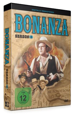 Bonanza - Season 4 (4 DVDs)