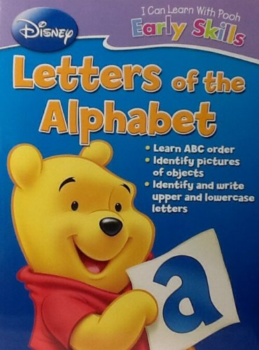 Disney I Can Learn With Pooh Early Basic Skills ~ Letters of The Alphabet