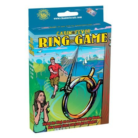 Channel Craft Cabin Fever Ring on a String Games