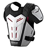 EVS Sports REVO 5 Roost Guard (White, Small/Medium)