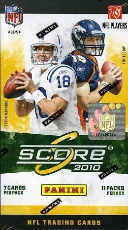 2010 Score NFL Factory Sealed Retail Box