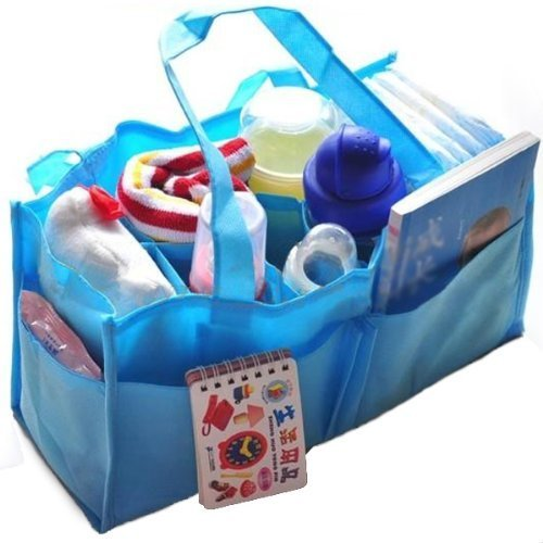 Xhan Newborn Infant Toddler Baby Portable Travel Outdoor Diaper Nappy Storage Insert Organizer Bag Tote front-111049