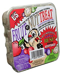 C & S Products Fruit n' Nut Treat, 12-Piece