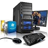 """Komplett-PC (AMD FX-8320 8x 3.5GHz, 60,96cm (24"""") LED Bildschirm, GeForce GTX960 2GB DDR5, USB 3.0, 1TB HDD, 8GB RAM, Gaming Tastatur/Maus, Windows 7 Prof 64-bit)"""