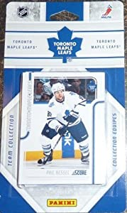 2011 / 2012 Toronto Maple Leafs Score Factory Sealed Team Set Including Phil Kessel, Joeffrey Lupul, Tyler Bozak, Colby Armstrong, Nazem Kadri, Dion Paneuf, Luke Schenn, Keith Aulie, Jonas Gustavsson, James Reimer and Others.