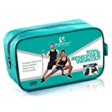 PREMIUM - FLEXXGYM Total Resistance Workout - Home Gym & Fitness Set - Incl. Exercise DVD for men & women - Elastic rubber bands for light & heavy duty Weight Training - Yoga - Pilates - Free Shipping