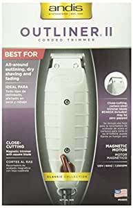 Andis Professional Outliner II Personal Trimmer, Gray (04603)