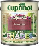 New 2014 Cuprinol Garden Shades Terracotta 1L
