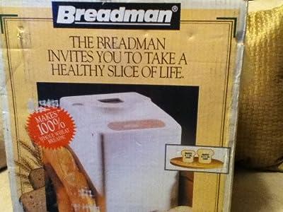 Breadman Automatic Bread Maker Bread Machine TR441 from Salton/Maxim Housewares, Inc.