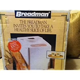Breadman Automatic Bread Maker Bread Machine TR441