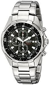 Casio Men's AMW330D-1AV Stainless Steel Watch with Link Bracelet