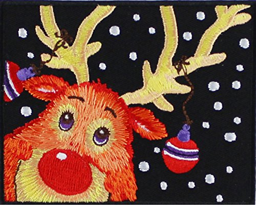 Application Christmas Reindeer Wallpaper Patch