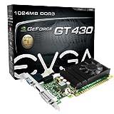 Evga GeForce GT 430 1 GB DDR3 PCI-Express 2.0 Graphics Card 01G-P3-1430-LR