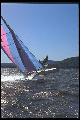172078-high-torque-hobie-21-sailing-on-penobscot-bay-maine-a4-photo-poster-print-10x8