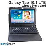 Galaxy Tab 10.1 LTE SC-01D 専用 キーボード付 レザーケース