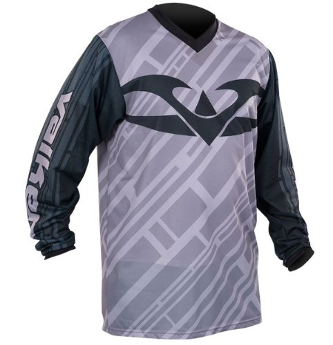 Valken Fate II Paintball Jersey - Black/Grey - 3XL