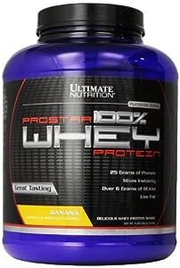 Ultimate Nutrition ProStar Whey Protein, Delicious Banana, 80 Ounces