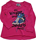 vingino manga larga kapua Chica camiseta rosa rosa rosa