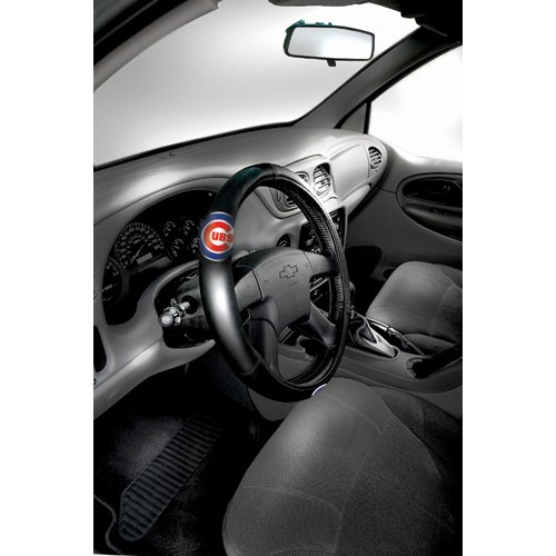 "BSS - Chicago Cubs MLB Steering Wheel Cover (14.5 to 15.5"")"" at Amazon.com"