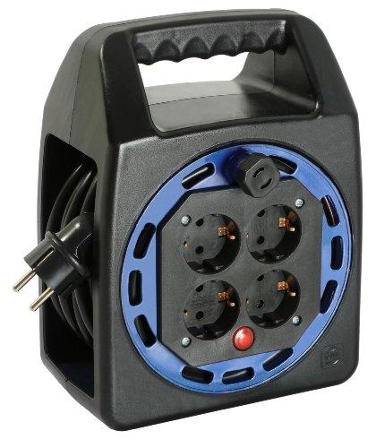 as-schwabe-16415-carrete-alargador-de-cable-compacto-plastico-kbs-15-m-h05vv-f-3g15-ip20-para-interi