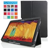 MoKo Samsung Galaxy Note 10 2014 Edition Case - Slim Folding Cover For Note 10.1 Inch 2014 Edition Tablet BLACK...