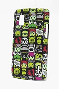 Fonokase Case for LG Google Nexus 4 Cartoon Hard Back + Screen Guard