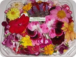 Edible Flower - Premium Assortment - 4 x 100-150 Count