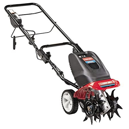 Troy-Bilt TB154E 9-Inch 6.5-Amp Electric Garden Cultivator/Tiller $126.73