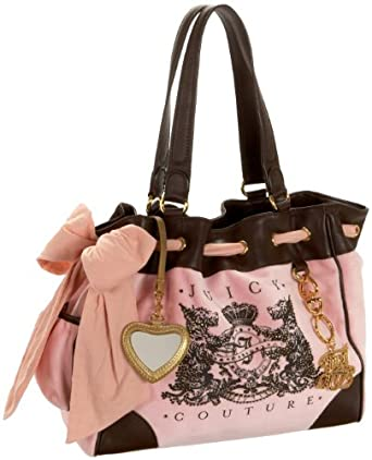 Juicy Couture Scotty Bling Daydreamer Satchel,Nardles/Depp,one size