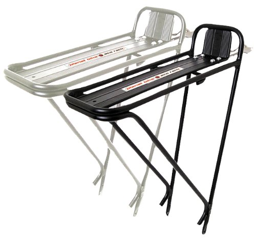 Planet Bike Eco Rack Oversized 6061 T6 Aluminum Bike Rack With Pre-Installed Hardware (Black) front-195547