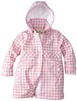 Hatley Girls 2-6X Children Splash Jacket, Gingham, 12