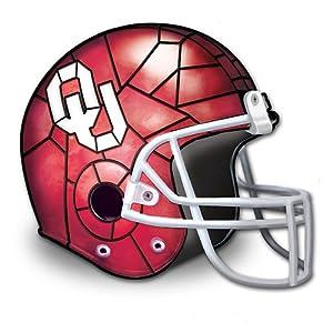University Of Oklahoma Sooners Football Helmet Shaped Lamp