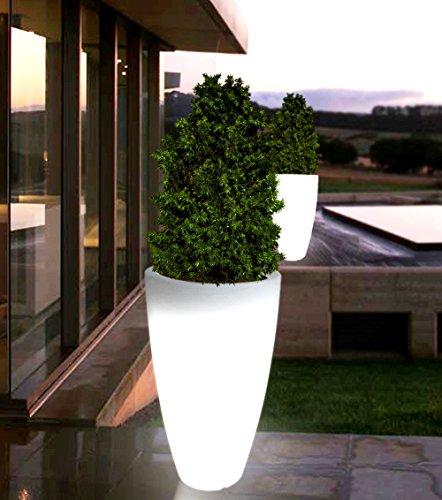 point-garden-Blumentopf-Blumenkbel-Pflanzkbel-beleuchtet-Designer-Leuchte-Hhe-90-cm