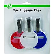 Do it Best Global Sourcing BS113 Luggage Tag - Smart Savers-3PC LUGGAGE TAGS
