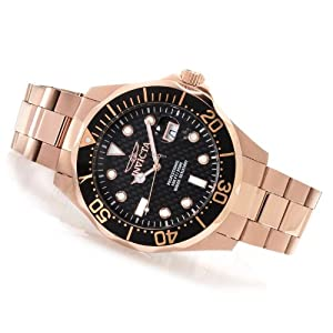 Invicta 14541 Pro Diver Rose Gold Tone Men's Watch