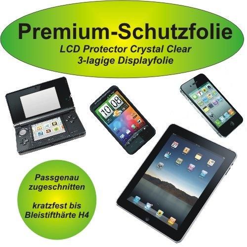 Premium-Schutzfolie - kratzfest bis H4! - crystal clear - Sony Ericsson Xperia pro - 3-lagig! - kristallklar - Display Schutzfolie - Displayschutzfolie - MK16i