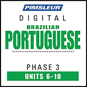 Port (Braz) Phase 3, Unit 06-10 Audiobook
