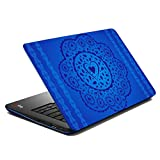 MeSleep Blue Floral Laptop Skin