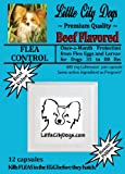 Little City Dogs once-a-month FLEA CONTROL Capsules for Dogs 35 to 80 lbs - TWELVE 400 mg Lufenuron Capsules ...Same Active Ingredient As Program - a full year of protection from flea eggs & larvae