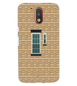 Printdhaba Window Design D-3222 Back Case Cover For Motorola Moto G4