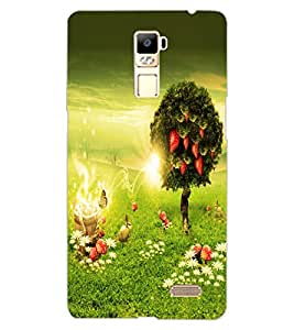 ColourCraft Beautiful Scenery Design Back Case Cover for OPPO R7