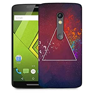 Snoogg 3Rd Dimension Designer Protective Phone Back Case Cover For Motorola Moto X Play