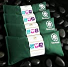Namaste Yoga Lavender Eye Pillow - Green - Set of 4