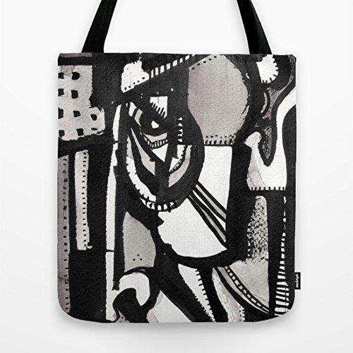 Society6 - Sideways Tote Bag by 5wingerone